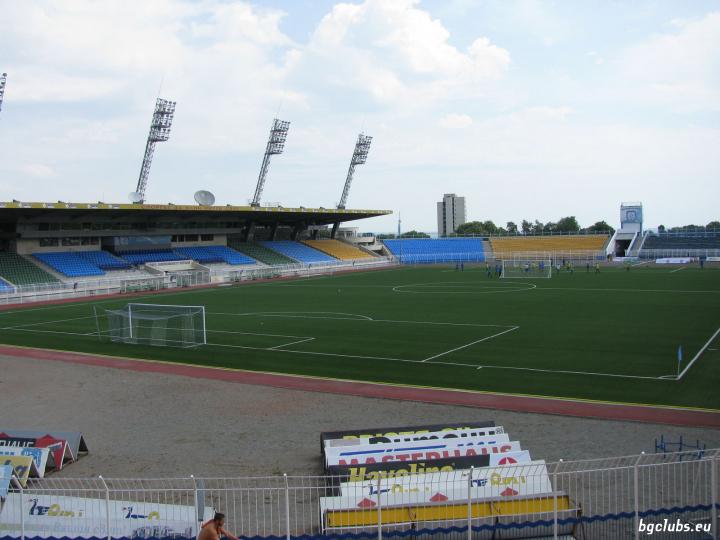 "Стадион ""Лазур"" - в гр. Бургас"