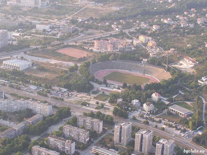"""Стадион """"Юрий Гагарин"""" - в гр. Варна"""