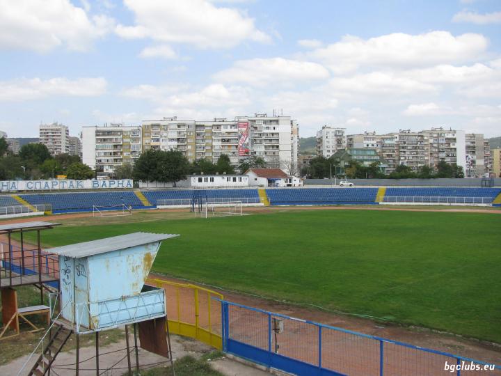 "Стадион ""Спартак"" - в гр. Варна"