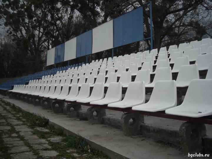 """Стадион """"Димитър Бурков"""" - в гр. Търговище"""