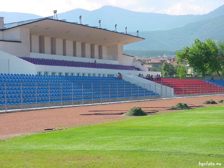 """Стадион """"Чепинец"""" - в гр. Велинград"""
