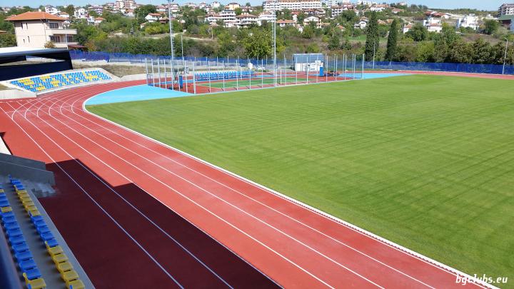 """Стадион """"Черноморец"""" - в гр. Бяла"""