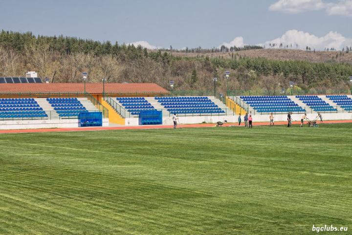 """Стадион """"Левски"""" - в гр. Долна баня"""