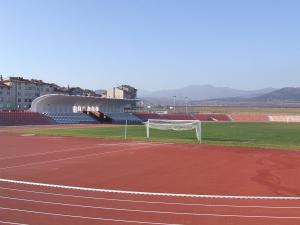 """Стадион """"Крепост""""в гр. Хисаря"""