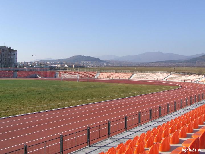 """Стадион """"Крепост"""" - в гр. Хисаря"""