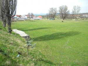 Стадион в с. Домлян