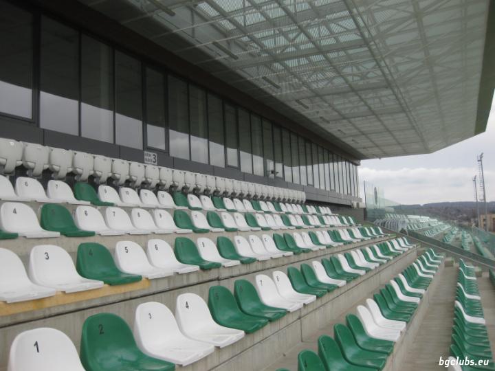 """Стадион """"Гнездо на орли"""" - в гр. Разград"""